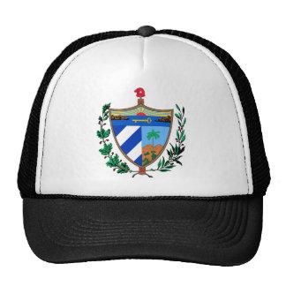 Cuba Coat of Arms Mesh Hats