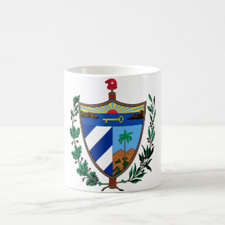 cuba coat of arms coffee mug
