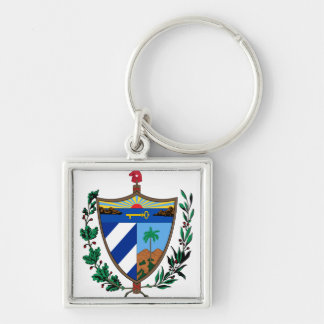 Cuba Coat of arms CU Key Ring