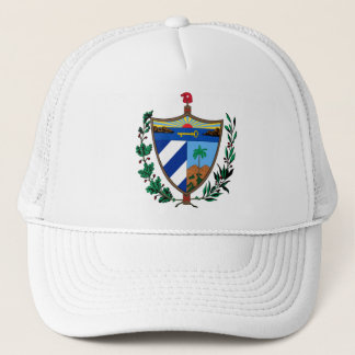 Cuba Coat of arms CU Trucker Hat
