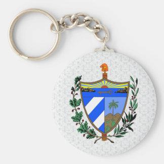 Cuba Coat of Arms detail Key Ring