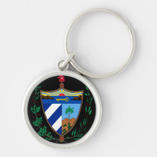 cuba coat of arms key chains