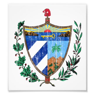 Cuba Coat Of Arms Photo Print