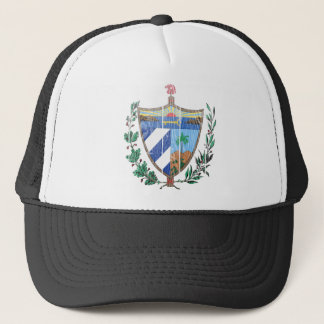 Cuba Coat Of Arms Trucker Hat