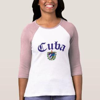 Cuba Coat of Arms T Shirts