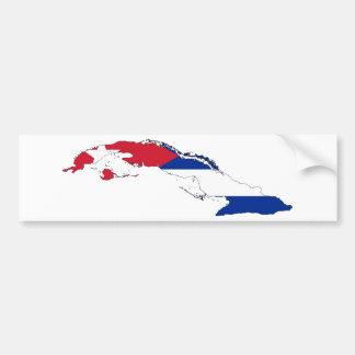 Cuba CU Bumper Sticker