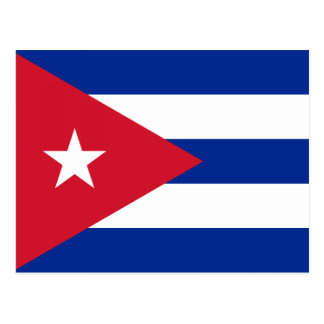 Cuba – Cuban Flag Postcard