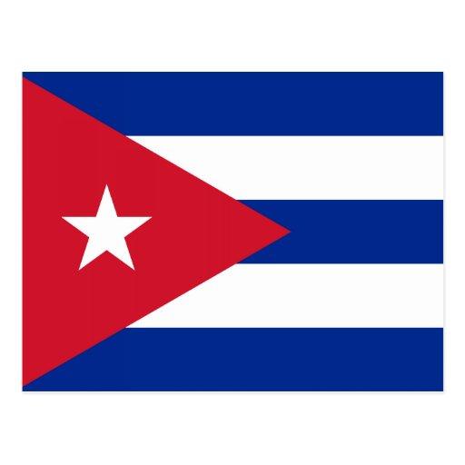 Cuba – Cuban Flag Postcards