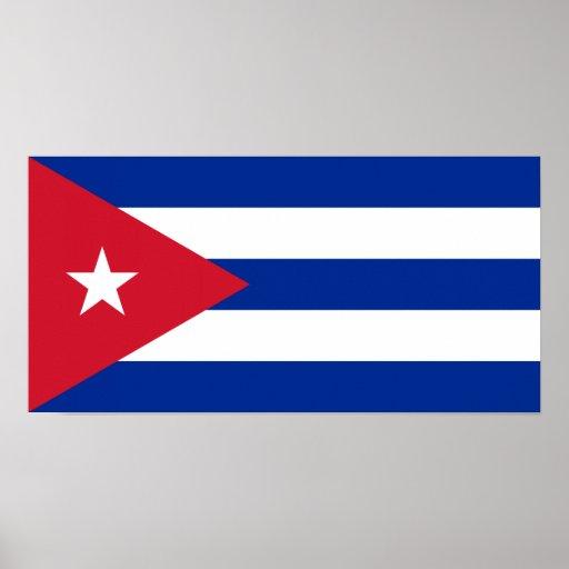 Cuba – Cuban Flag Poster