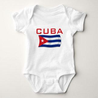 Cuba Flag 1 Baby Bodysuit
