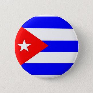 Cuba Flag 6 Cm Round Badge