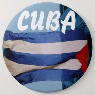 Cuba flag badge
