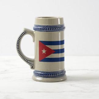 Cuba Flag Beer Stein