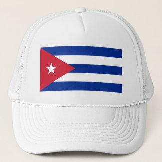 Cuba Flag CU Trucker Hat