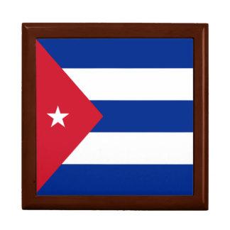 Cuba Flag Gift Box