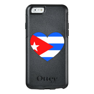 Cuba Flag Heart OtterBox iPhone 6/6s Case