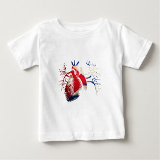 Cuba Flag in Real Heart Shirt