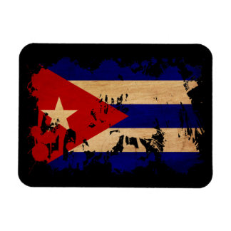 Cuba Flag Rectangular Photo Magnet