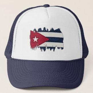 CUBA FLAG TRUCKER HAT
