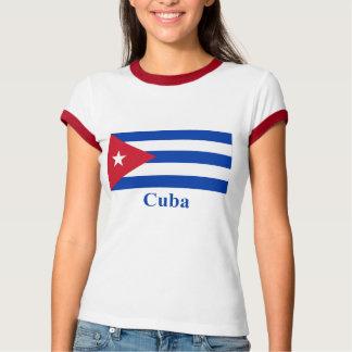 Cuba Flag with Name T-Shirt