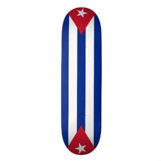Cuba flags, twice custom skate board