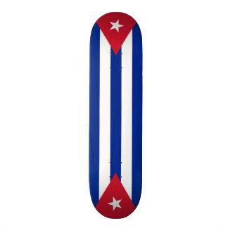 Cuba flags, twice skate board decks