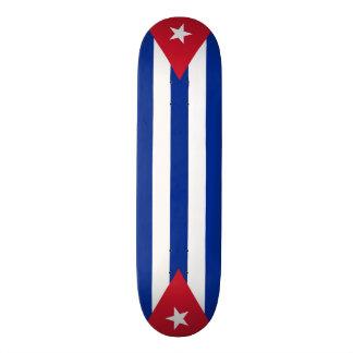 Cuba flags, twice skateboards