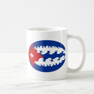 Cuba Gnarly Flag Mug