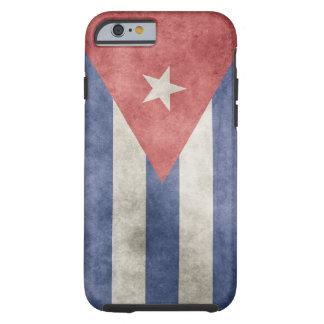 Cuba Grunge Flag Tough iPhone 6 Case
