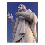 Cuba, Havana, Sculpture of Jesus. Postcard