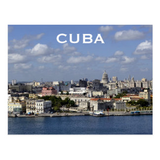 Cuba Havana Vintage Travel Tourism Add Postcard