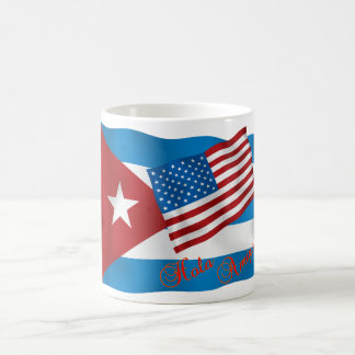 Cuba, Hola Amigo Basic White Mug