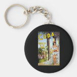 Cuba Holiday Isle Of The Tropics Keychains