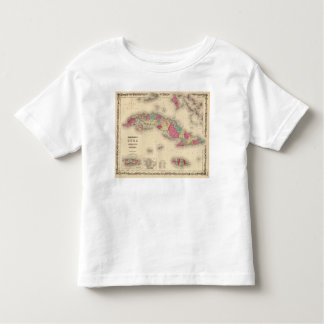 Cuba, Jamaica, and Porto Rico Toddler T-Shirt