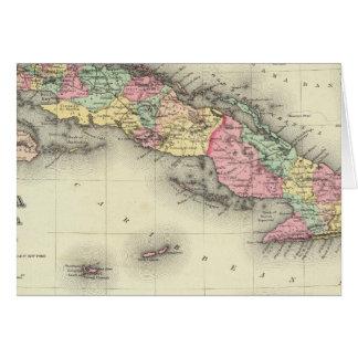 Cuba, Jamaica And Puerto Rico Card