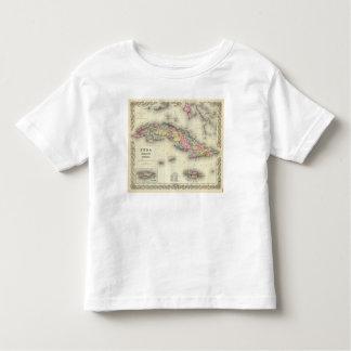 Cuba, Jamaica And Puerto Rico Toddler T-Shirt