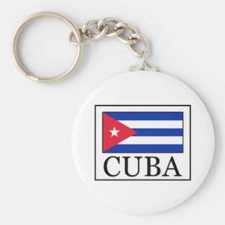 Cuba keychain