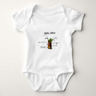 Cuba Libre Cocktail Baby Bodysuit