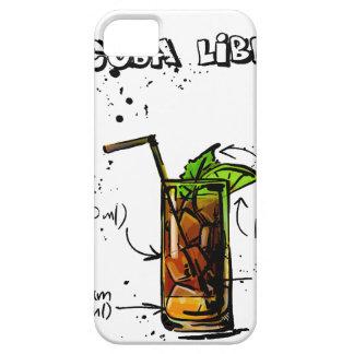 Cuba Libre Cocktail iPhone 5 Case