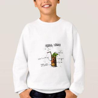 Cuba Libre Cocktail Sweatshirt
