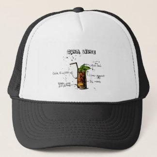 Cuba Libre Cocktail Trucker Hat