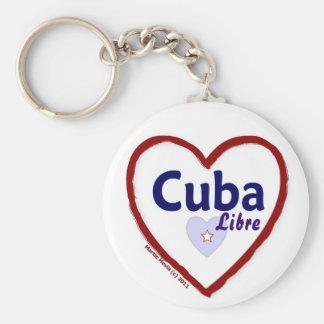 Cuba Libre Keychain