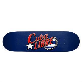 Cuba Libre Motto 21.6 Cm Old School Skateboard Deck