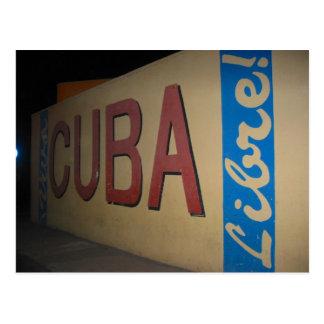 cuba libre postcard