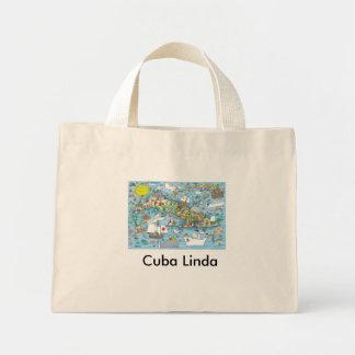 Cuba Linda Mini Tote Bag