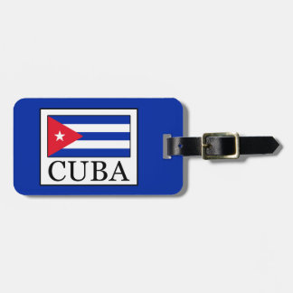 Cuba Luggage Tag
