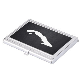 Cuba Maps Symbol Business Card Holder