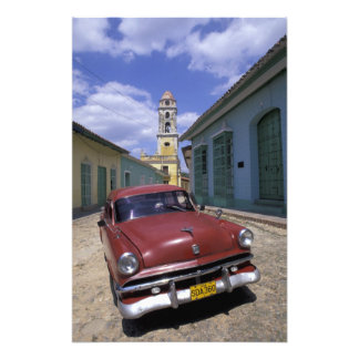 Cuba, old colonial village of Trinidad. Photographic Print