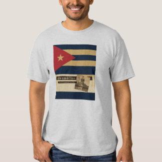Cuba Palacio Flag Shirt