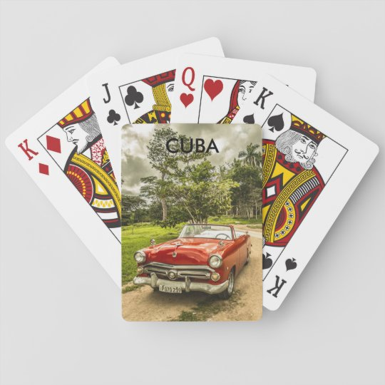 Cuba Playing Cards
